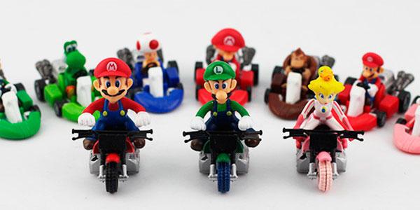 Pack de 10 figuras de Super Mario Kart al mejor precio