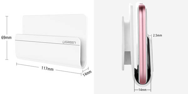 Soporte adhesivo para smartphone