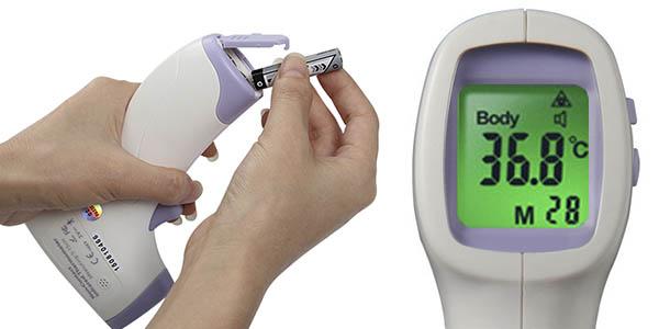 termometro multiusos para medir temperatura a distancia