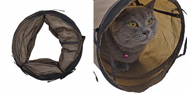 Túnel plegable para gatos barato