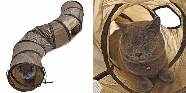 Túnel 120 cm para mascotas