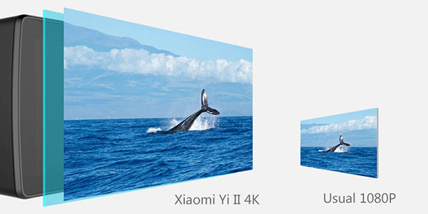 Resolución Xiaomi Yi 4K