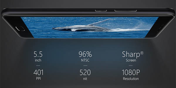 Smartphone Ulefone Gemini con doble cámara