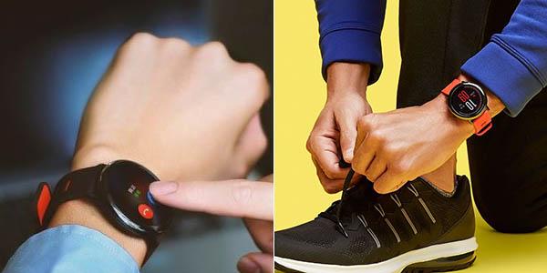 Smartwatch Xiaomi Amazfit con GPS y sensor cardíaco