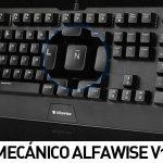Teclado mecánico Alfawise V1 Blue Switch español