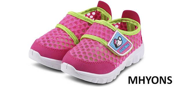 Zapatillas veraniegas para niños