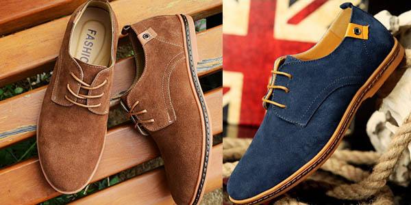 Zapatos de ante para hombre