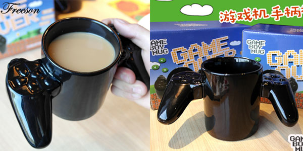 Taza de cerámica Game Over barata
