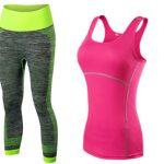 Pack top y mallas de deporte para mujer rebajado
