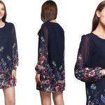 Vestido ILISMABA con estampado floral chollo en AliExpress