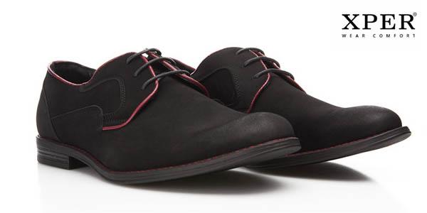 f159cd98 Chollo Zapatos estilo Brogue de XPER fabricados en cuero PU para ...