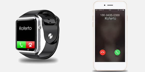 Smartwatch A1 con cupón descuento