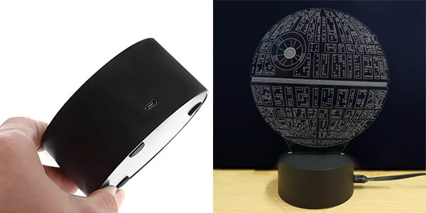 Lámpara LED decorativa Star Wars