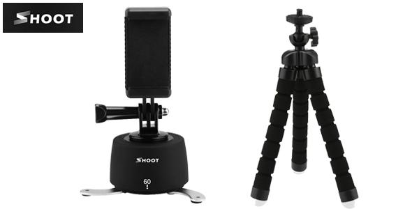 Soporte giratorio Shoot para smartphone o cámaras deportivas barato