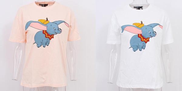 Camisetas Dumbo de manga corta para mujer chollazo en AliExpress