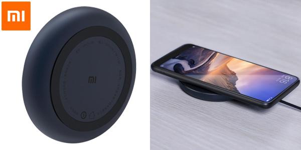 Cargador inalámbrico Xiaomi con tecnología Qi barato en Banggood