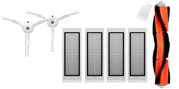 Set de recambios para robot aspirador Xiaomi Vacuum