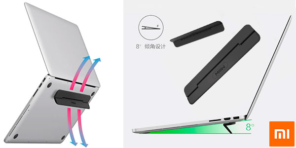 Chollo Soporte Xiaomi Mijia Miwu ultra delgado para portátil