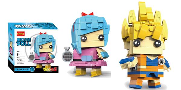 Figuras Dragon Ball Brick Headz tipo LEGO chollo en AliExpress