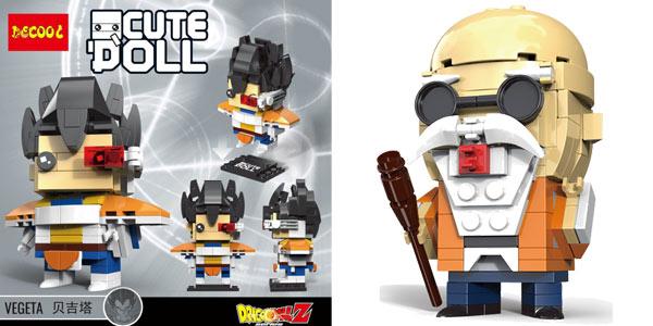 Figuras Dragon Ball Brick Headz tipo LEGO baratas en AliExpress