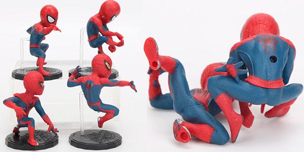 Pack de 4 figuras de Spider-Man de 8 cm barato