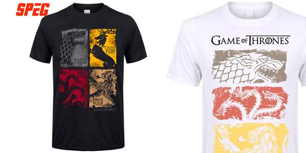 Camiseta de Juego de Tronos para hombre barata