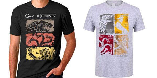 Chollo Camiseta de Juego de Tronos para hombre