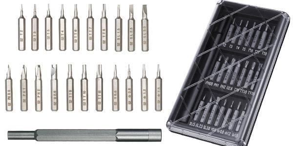 Set de destornilladores de precisión 22 en 1 barato en Banggood
