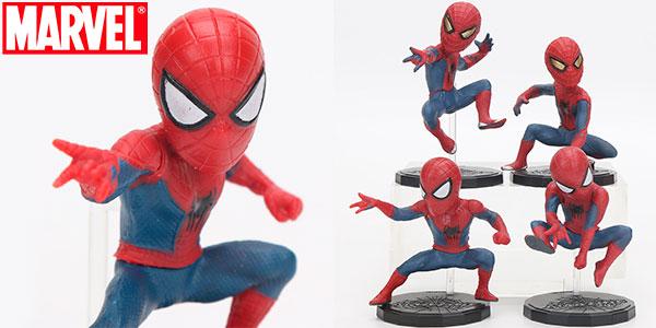 Chollo Pack de 4 figuras de Spider-Man de 8 cm
