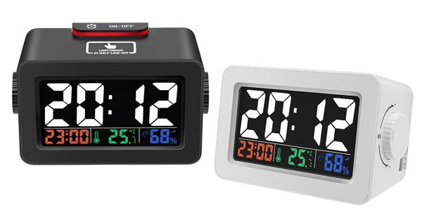 Reloj despertador Digoo DG-C1R con estación meteorológica chollo en BangGood