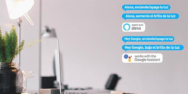 Bombilla inteligente Xiaomi Philips E27 compatible con Alexa y Google Home en AliExpress