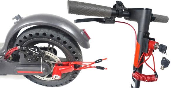 Sistema antirrobo para patinete eléctrico barato en AliExpress