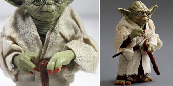 Figura Maestro Yoda de Star Wars de 12 cm chollo en AliExpress