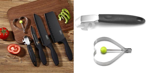 Set de cocina 5 piezas Minleaf M-02206 chollazo en Banggood
