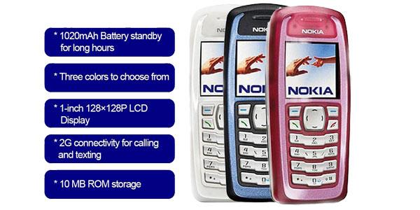 Teléfono móvil Nokia 3100 Mini chollo en Cafago