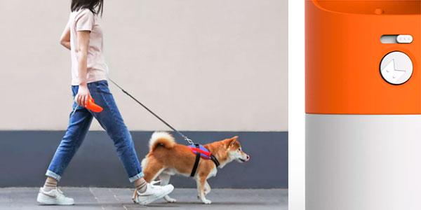 Bebedero portátil Xiaomi Rocket de 270 ml para mascotas barato