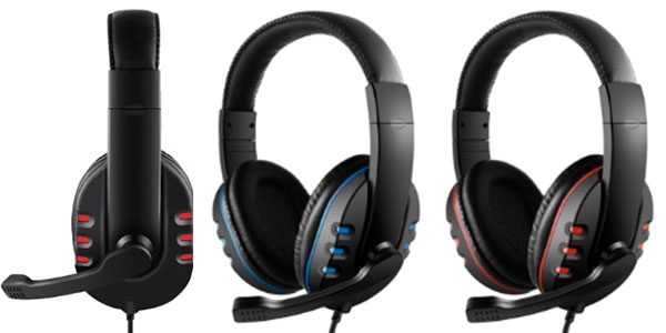 Chollo Auriculares gaming para PC, Xbox One y PS4