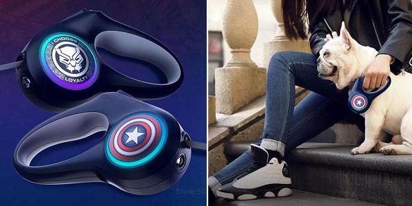 Correa para perros Xiaomi Mijia Petkit Marvel Avengers barata en AliExpress