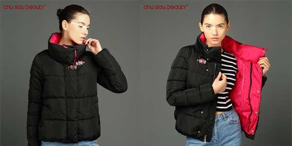 Chaqueta de invierno Chu Sau Beauty para mujer chollo en AliExpress