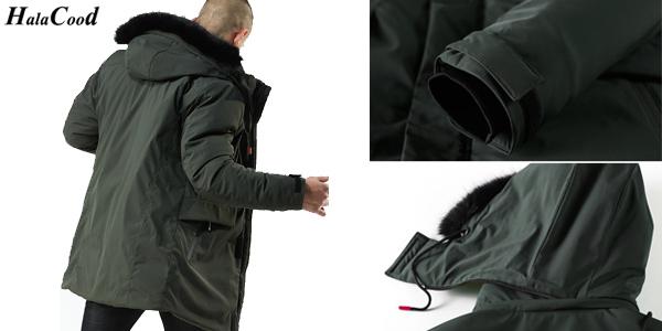 Parka para hombre con capucha chollazo en AliExpress