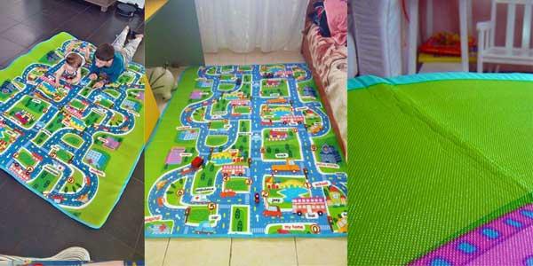 Alfombra juegos para niños en varios tamaños chollazo en AliExpress