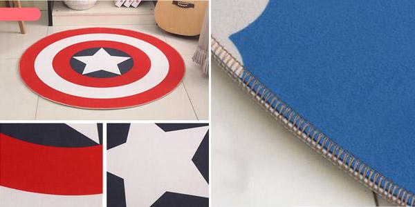Alfombra Escudo Capitán América barata en AliExpress