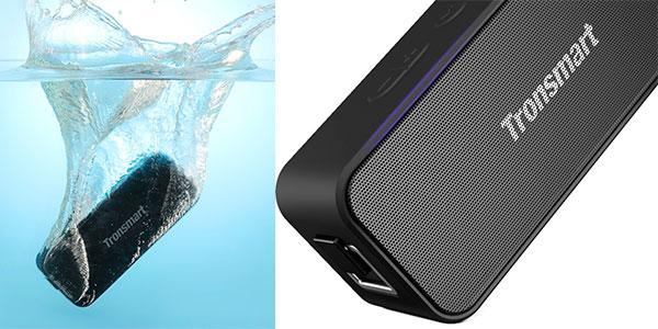 Altavoz inalámbrico Tronsmart Element T2 Plus de 20 W con Bluetooth 5.0 barato
