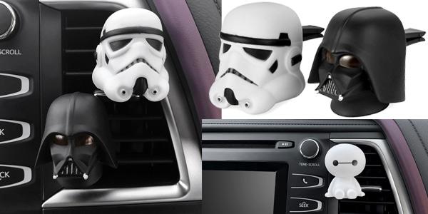 Ambientador para coche Star Wars barato en AliExpress
