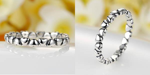 Anillo plata 925 estilo Pandora