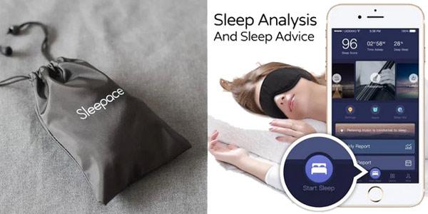 Máscara inteligente para dormir chollo en Banggood