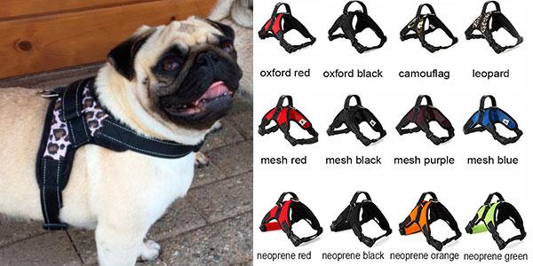 Arnés para perros de tipo K9 en varios modelos y tallas barato