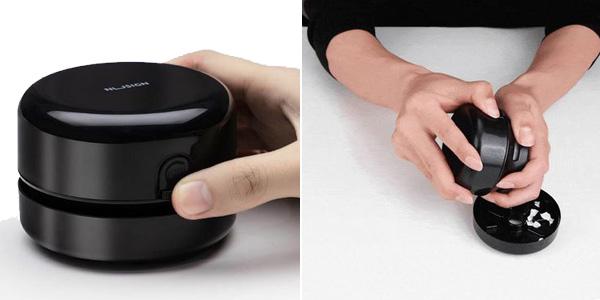 Mini aspirador de escritorio Xiaomi NUSIGN chollo en AliExpress