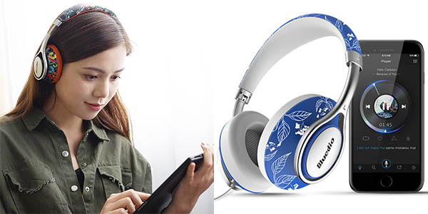 Auriculares Bluetooth Bluedio A2 baratos