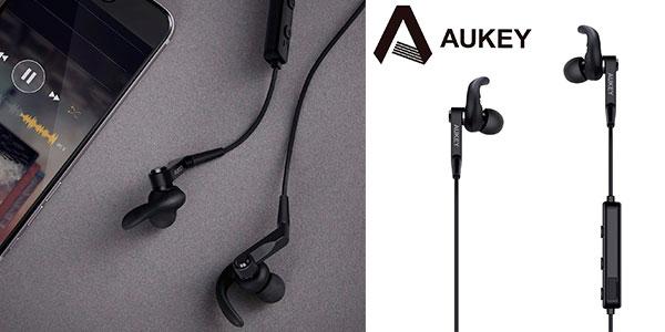 Auriculares deportivos bluetooth Aukey EP-E7 baratos